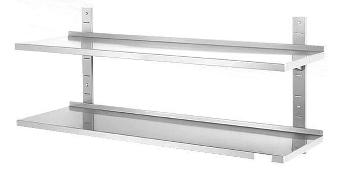 edelstahl wandregal latest wand edelstahl teuer wand. Black Bedroom Furniture Sets. Home Design Ideas